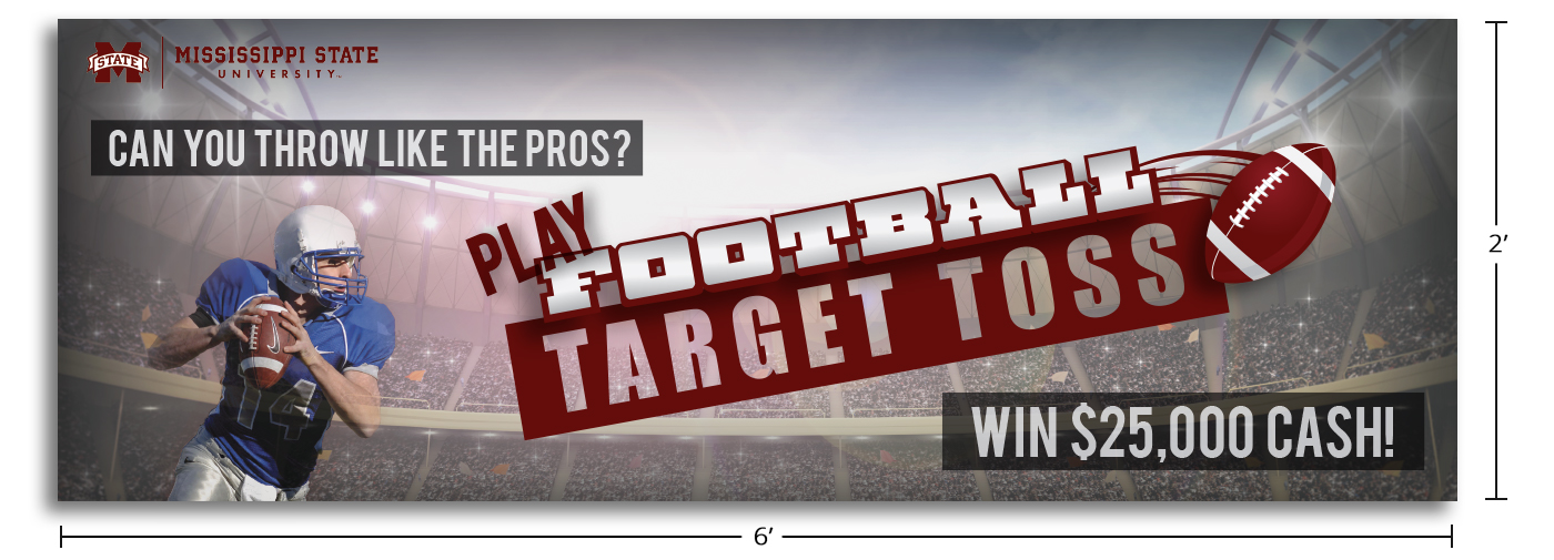 Football Contest Banner