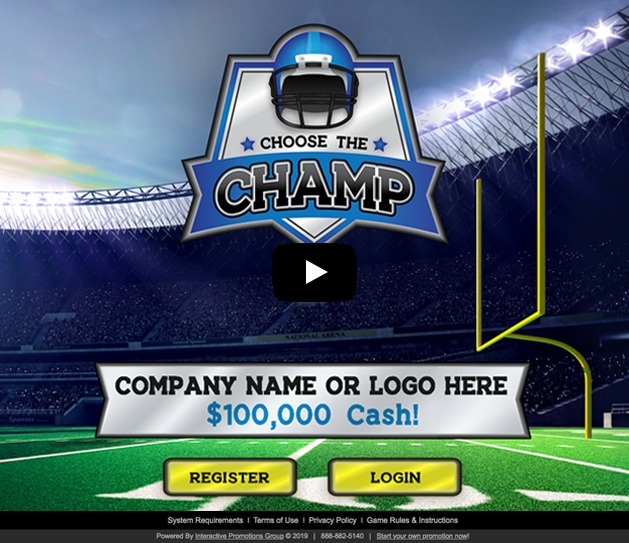 Choose the Champ Sample Game