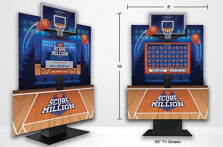 Basketball PTYW-Super Deluxe Kiosk