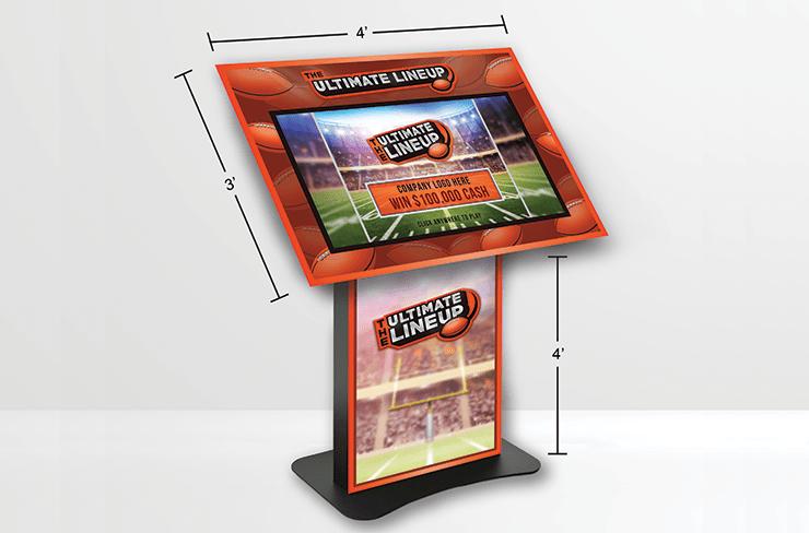 Football LL-Deluxe Kiosk